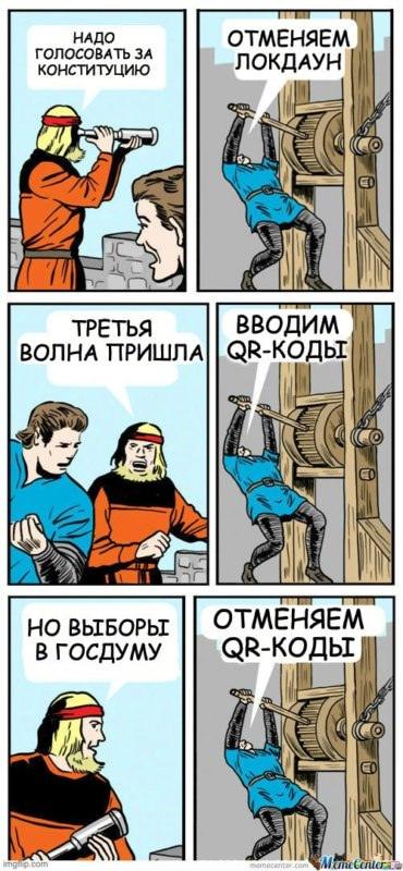 Отмена QR-кодов в Москве